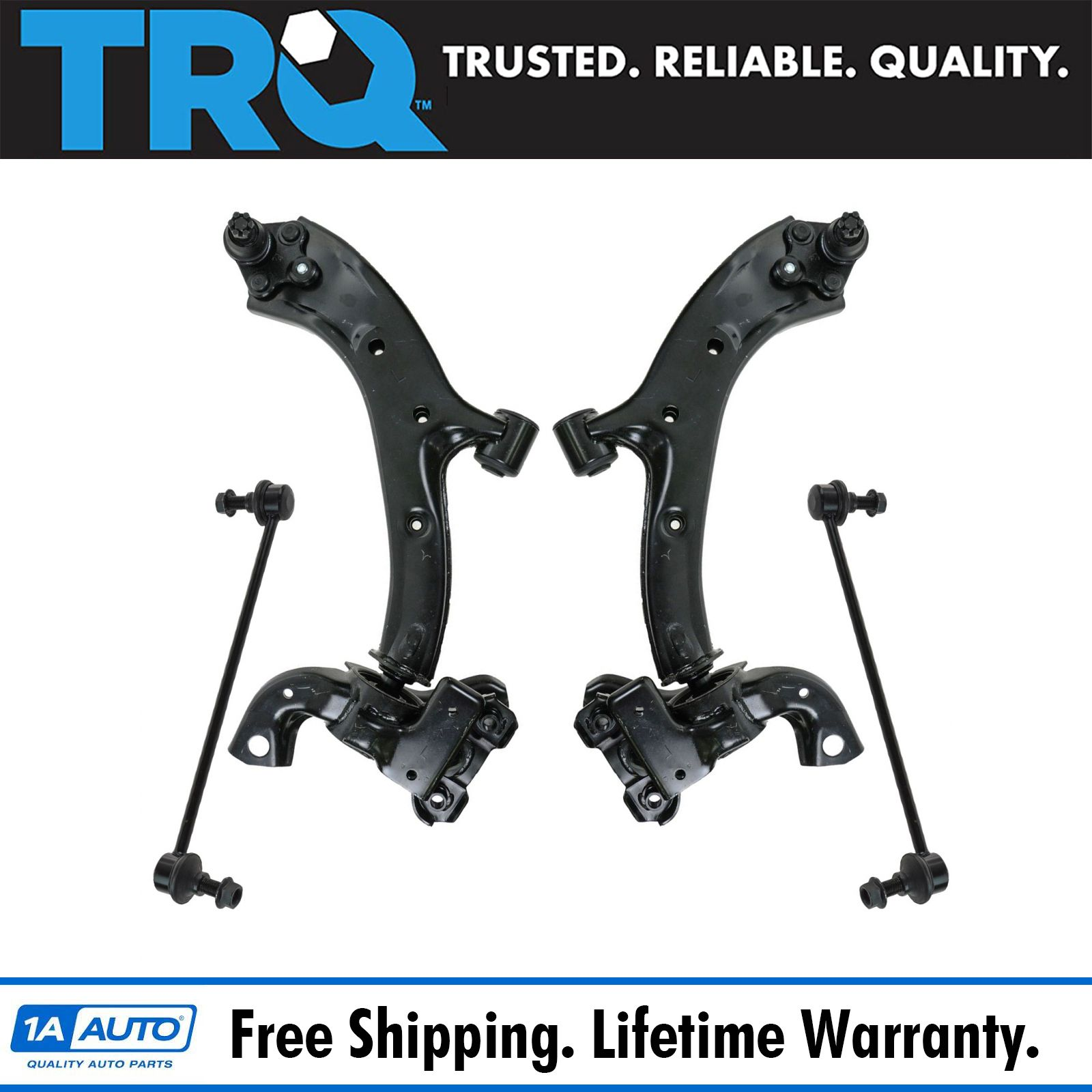Front Control Arm Ball Joint Sway Bar Link Suspension Kit