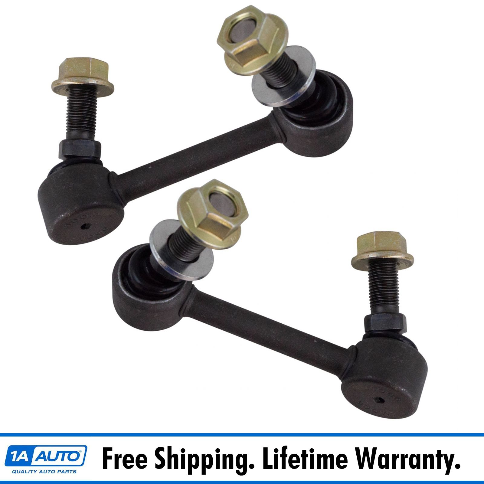 Pair Set of 2 Rear Stabilizer Bar Link Kits Moog for Buick Cadillac Oldsmobile