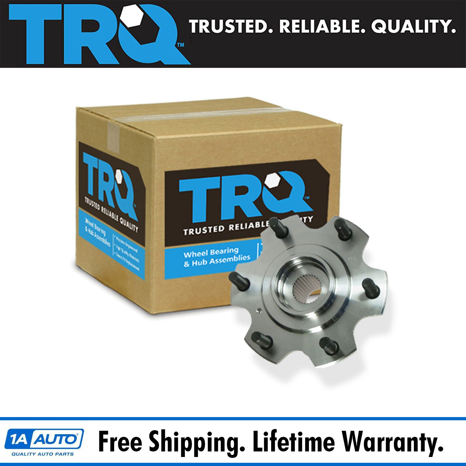TRQ Front Wheel Hub /& Bearing Left or Right for Galant Eclipse Endeavor 5 Lug