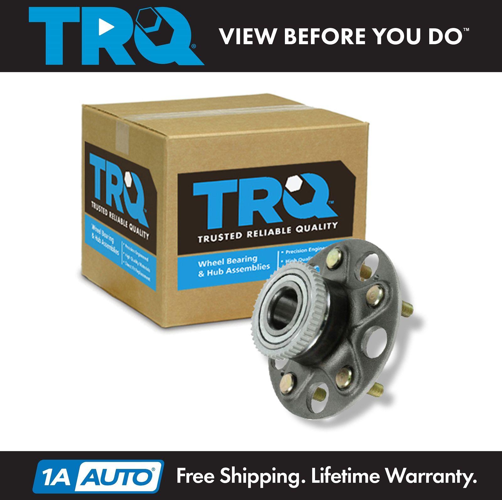 TRQ Rear Wheel Hub & Bearing Assembly 5 Lug NEW For Honda