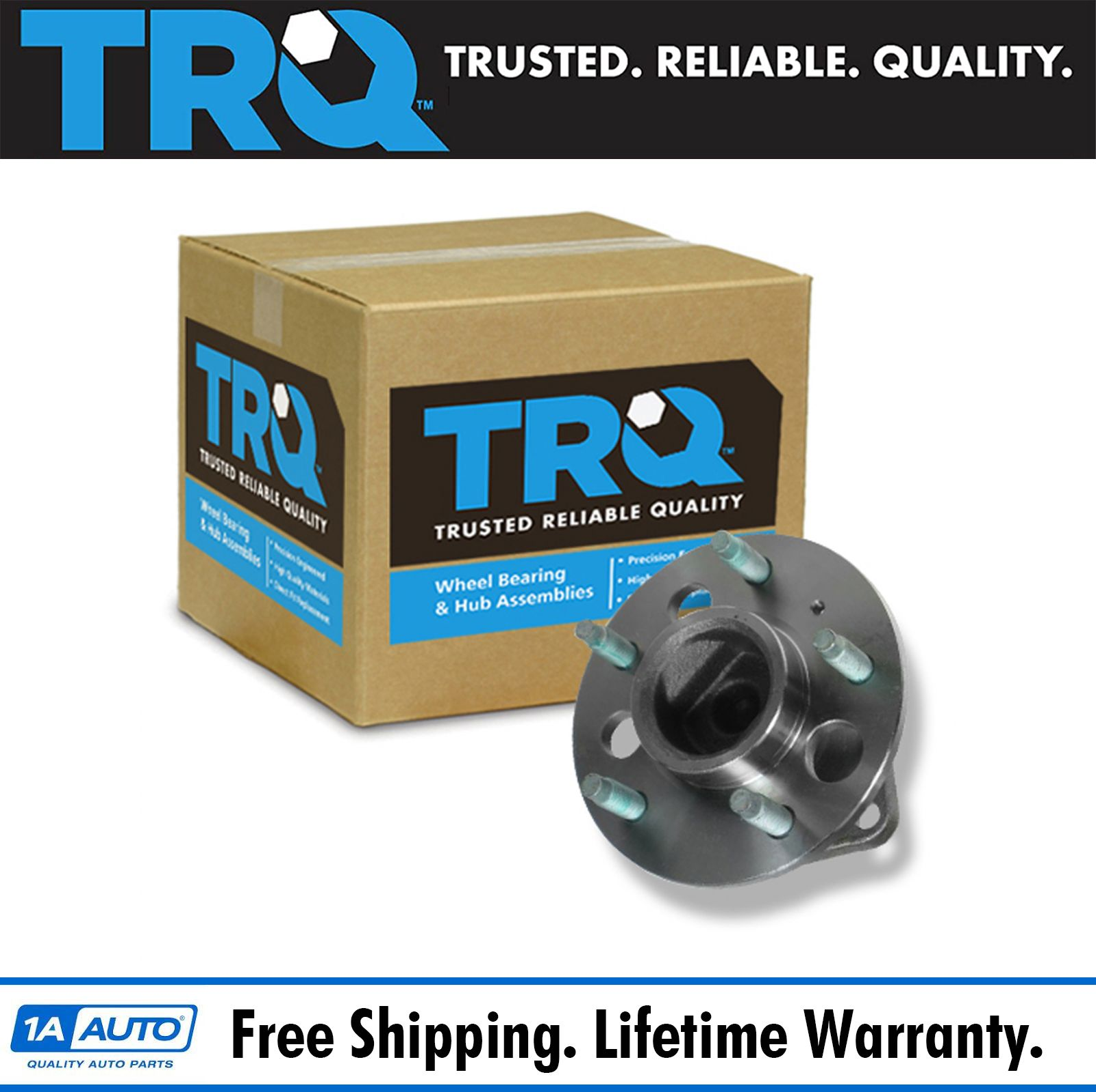 2003 Buick Century Wheel Bearing: TRQ Rear Wheel Hub & Bearing Assembly For Century Regal