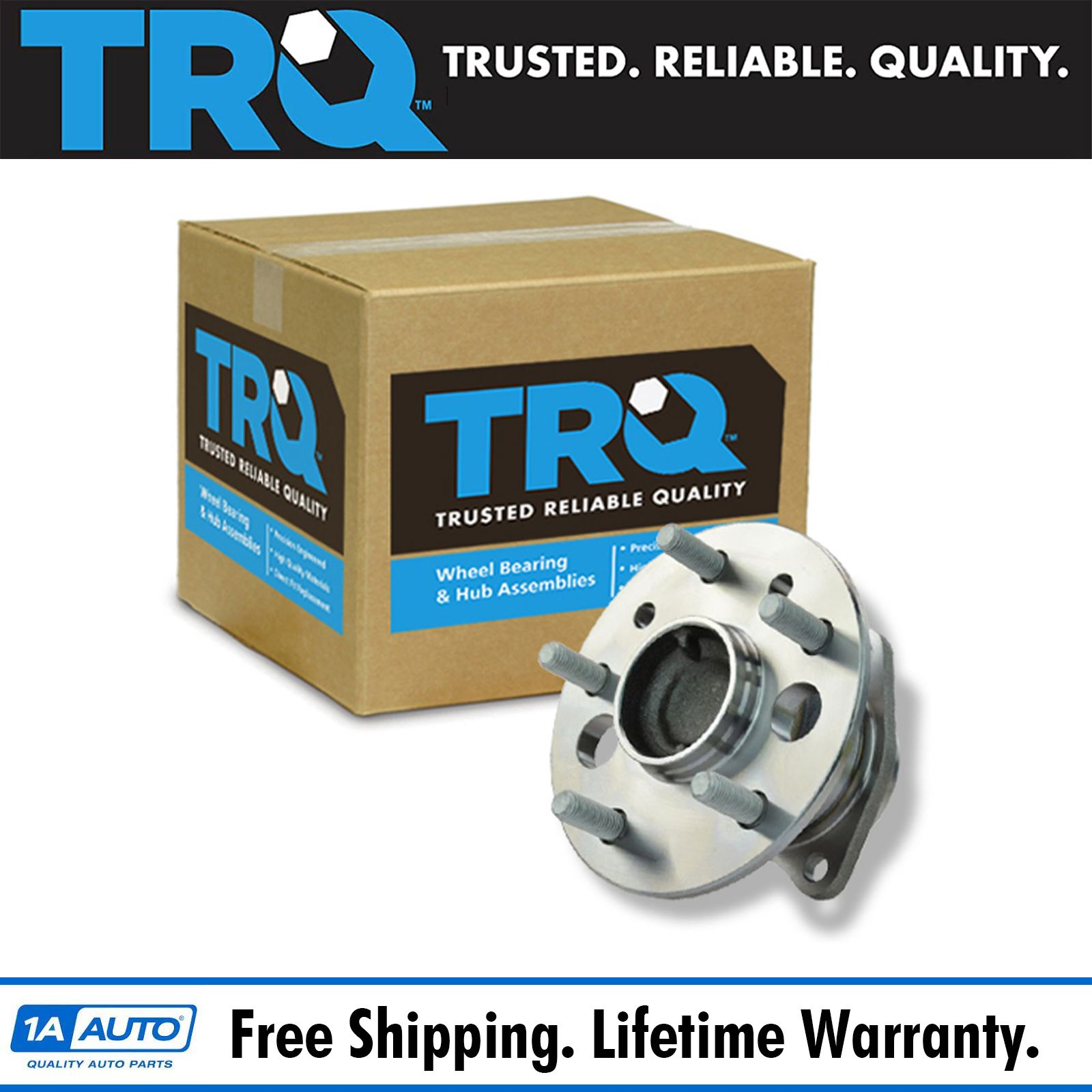 2019 Toyota Camry Hub Bearing Assembly Rear Axle Left: TRQ Rear Wheel Hub & Bearing Driver Side Left For Toyota