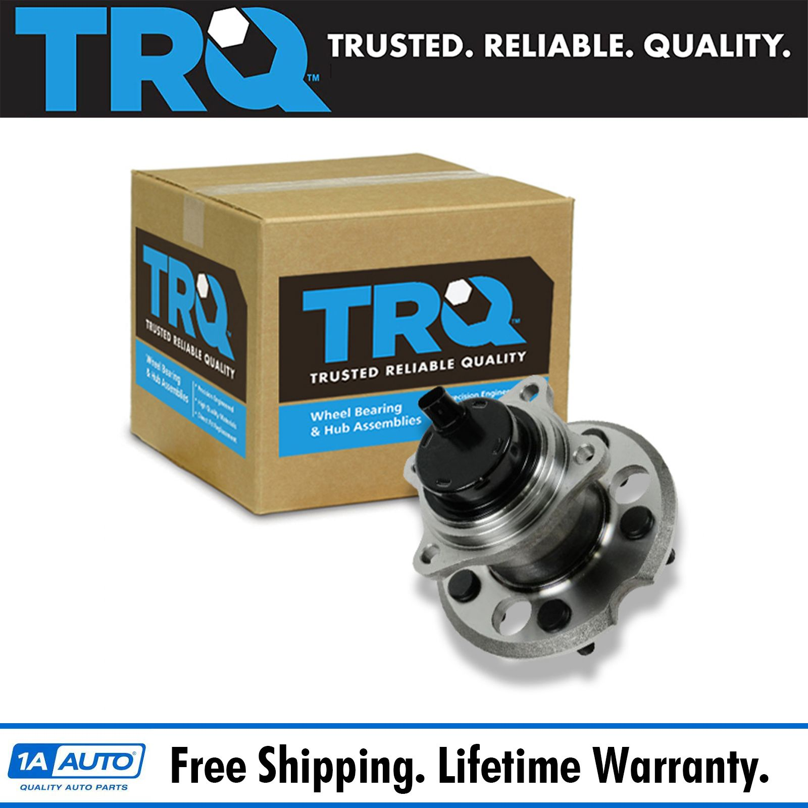 Details about TRQ Wheel Bearing & Hub Assembly Rear for 04-10 Toyota Sienna  FWD 2WD NEW