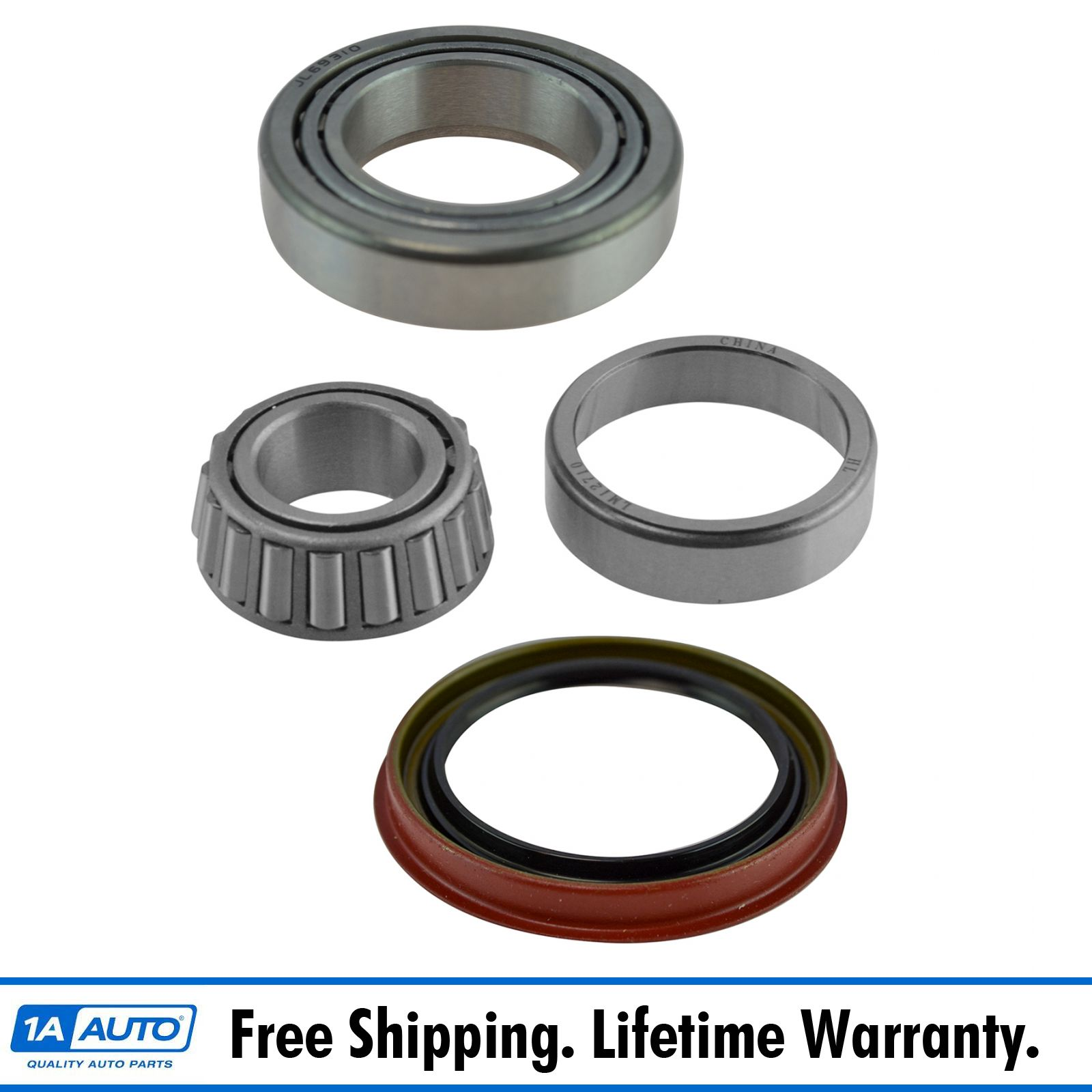 Front Inner /& Outer Wheel Bearing w// Seal Pair LH /& RH Sides for Ford F150 2WD