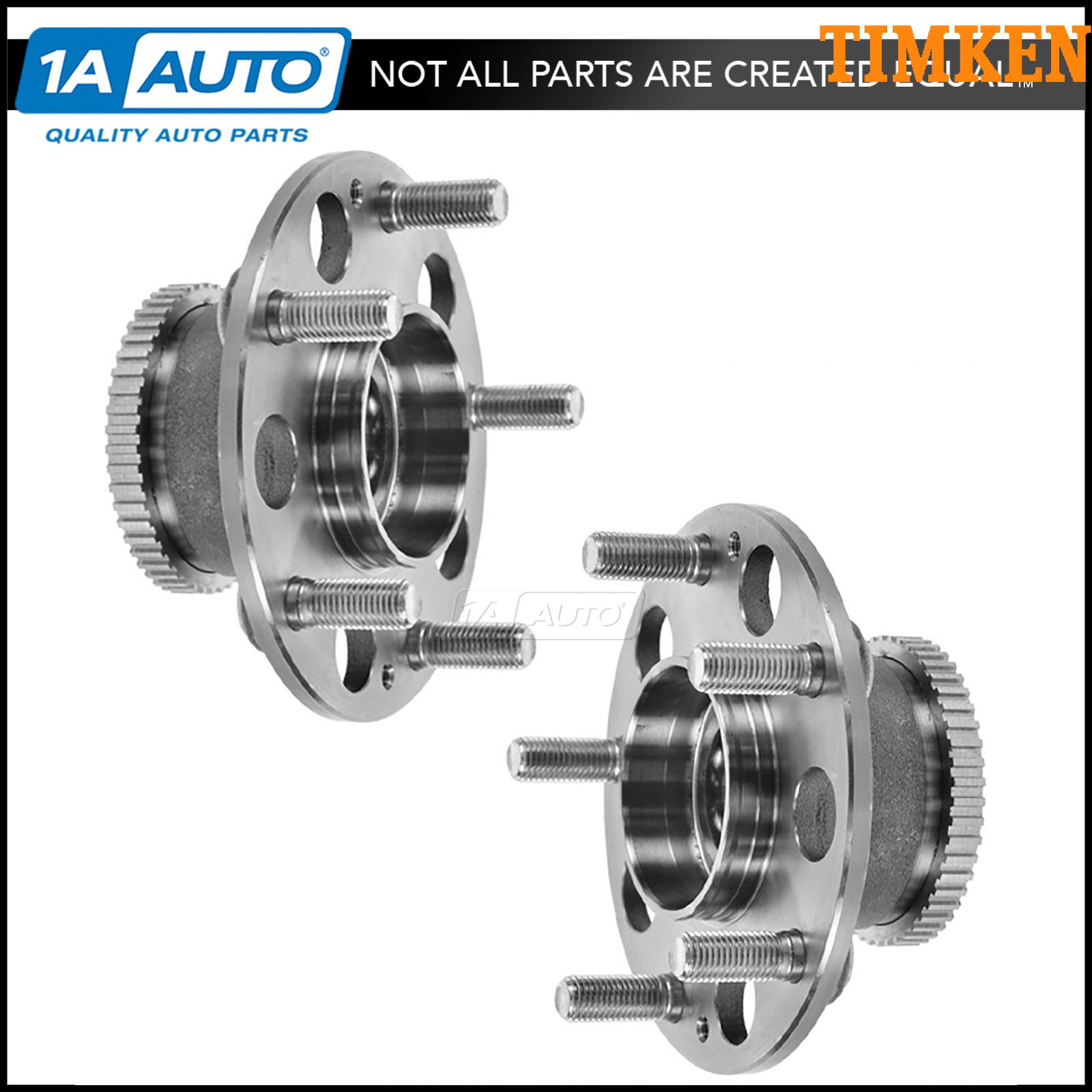 For Acura Integra Type R 97-01 FWD Rear Wheel Bearing /& Hub Assembly Timken