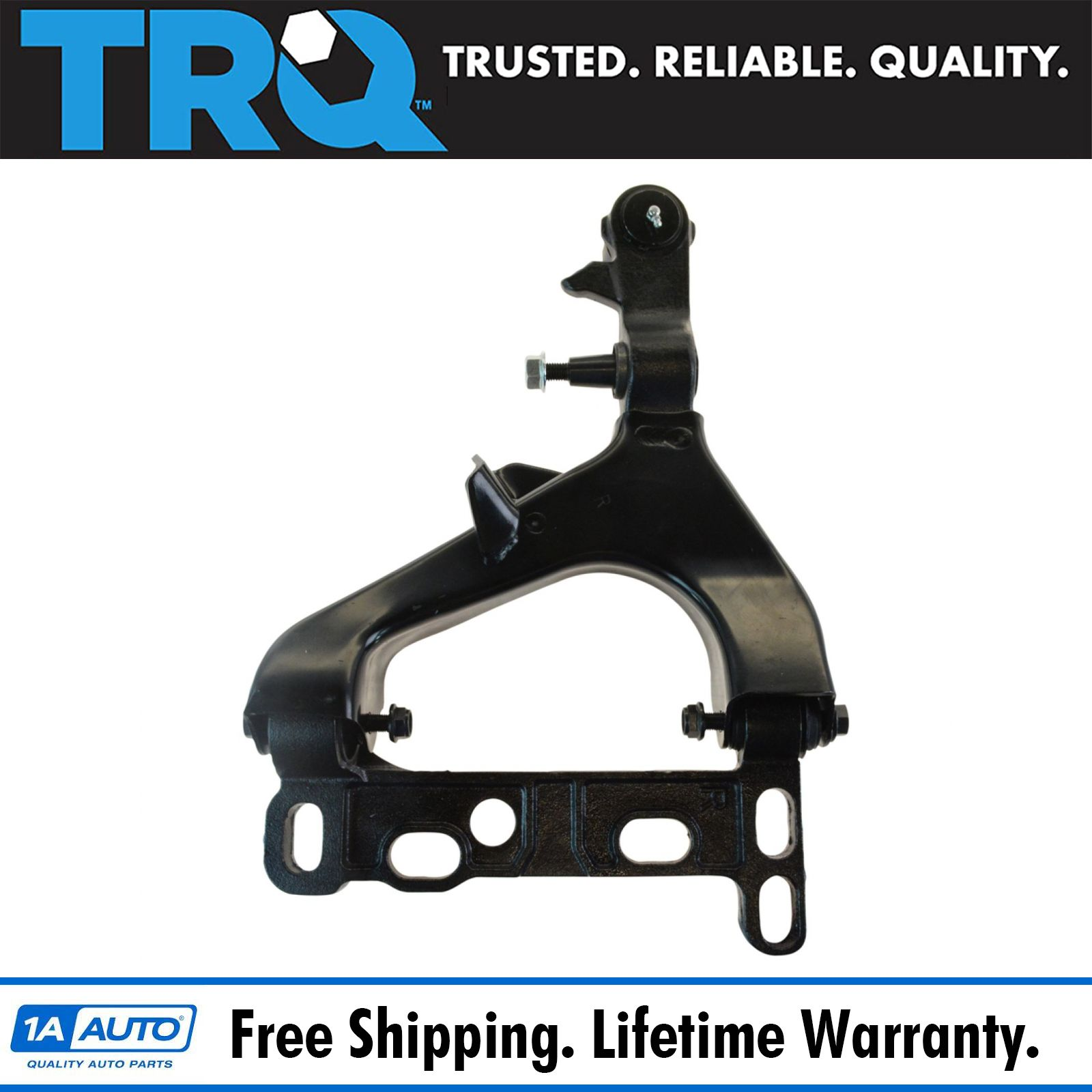 2005 Buick Rainier Rear Air Suspension: Front Lower Control Arm W/ Ball Joint & Bracket Passenger
