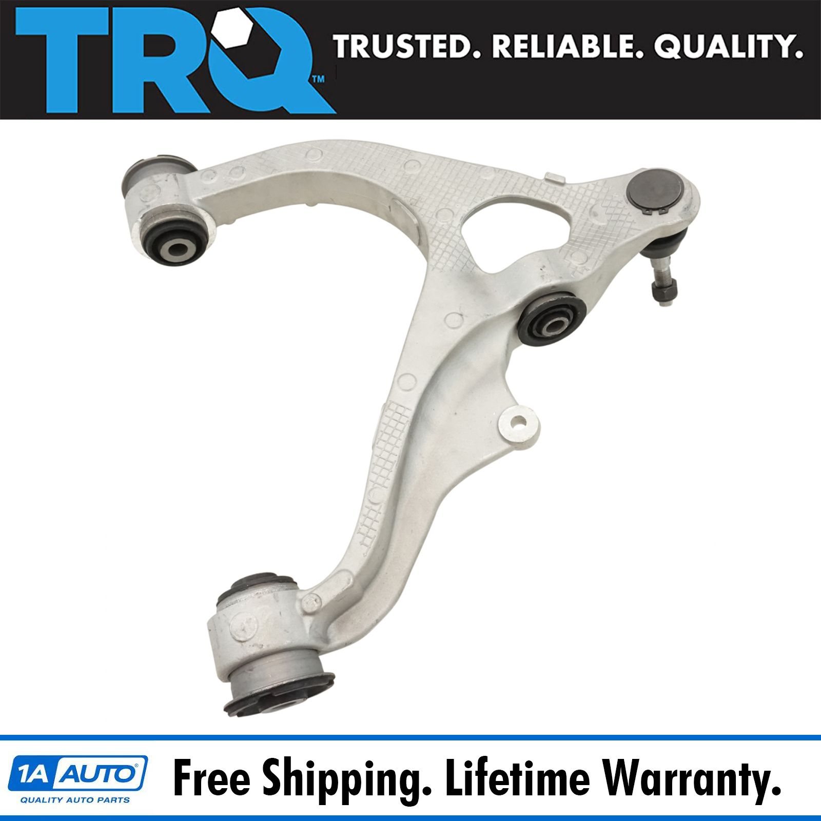 Press In Both 6-Piece Front Suspension Kit 2 Front Upper Control Arm /& Ball Joints 2 Front Lower Ball Joints Fit Steel Control Arms Only