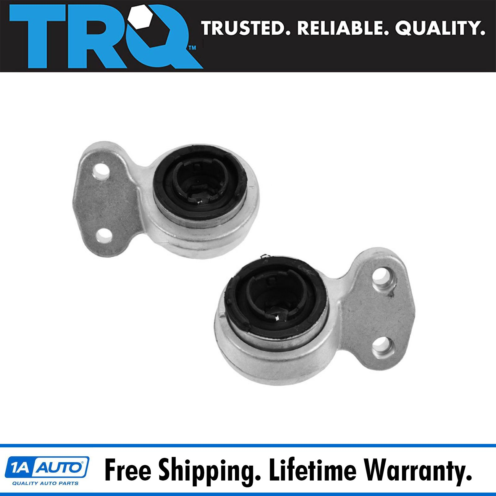 Set of 2 Front Lower Control Arm Bushings Left Right BMW E46 325Ci 325i 330i
