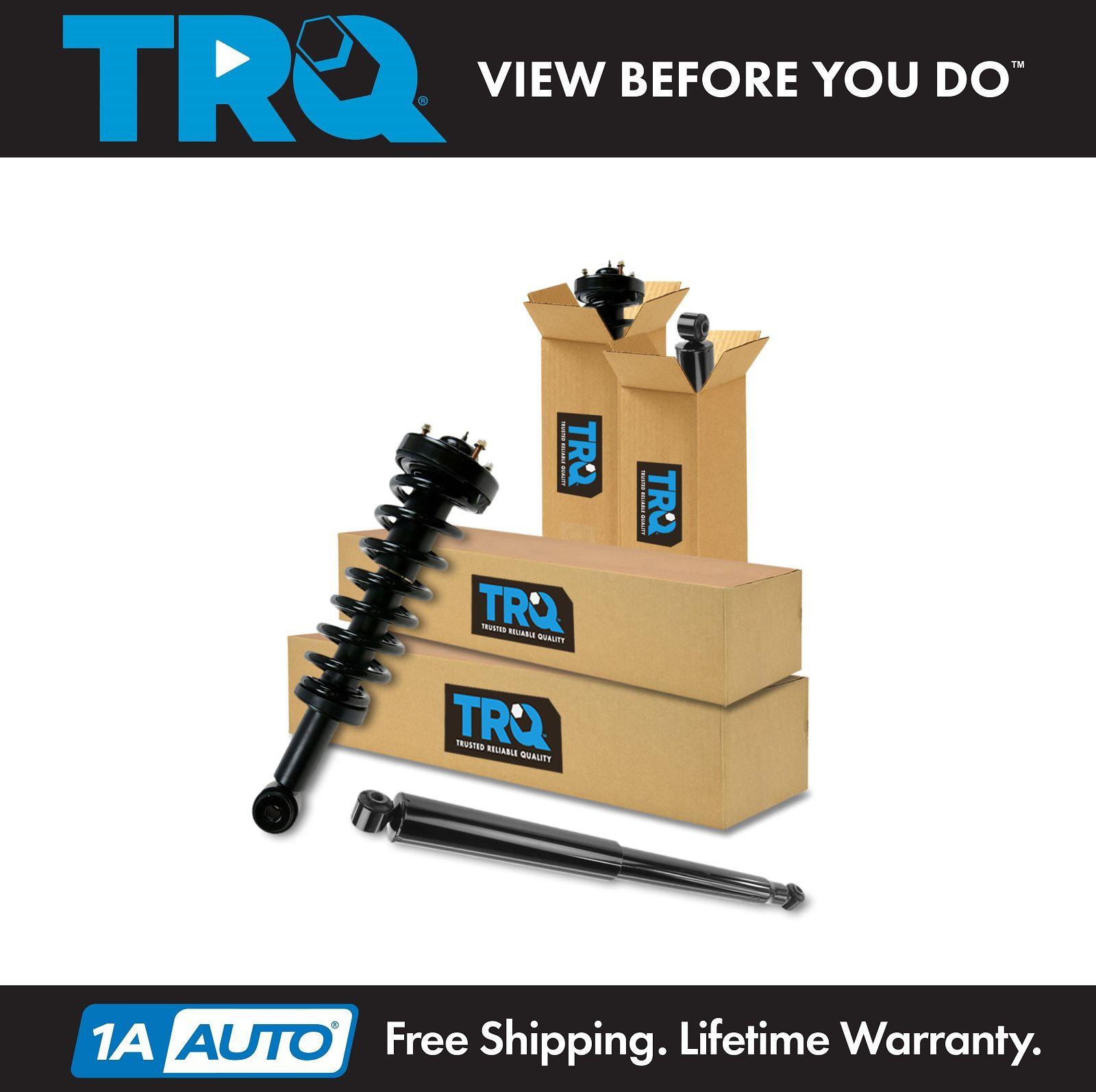 Front Shocks Absorber Strut Assy Rear Shocks Absorber Set For RWD F-150 Mark LT