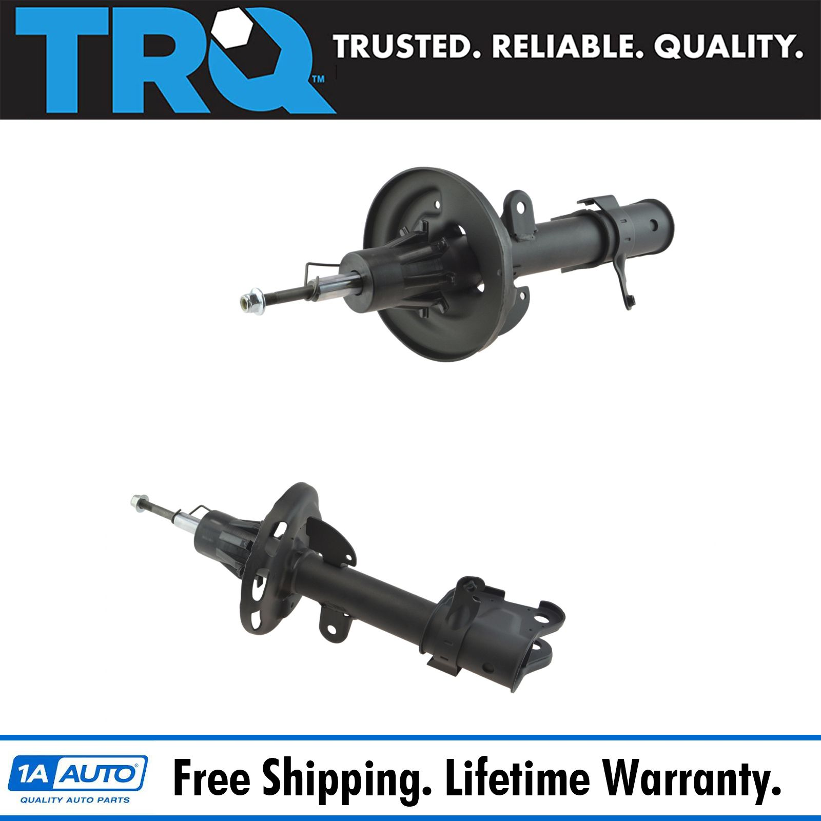Front Strut Assembly LH Driver RH Passenger Pair 2pc For