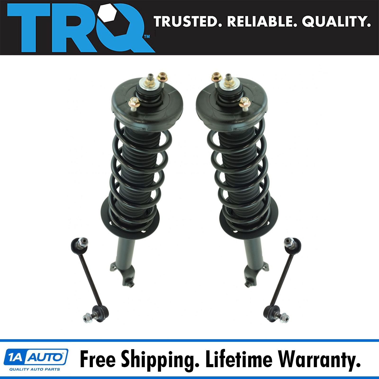 Rear Suspension Kit Strut & Spring Assemblies W/ End Links