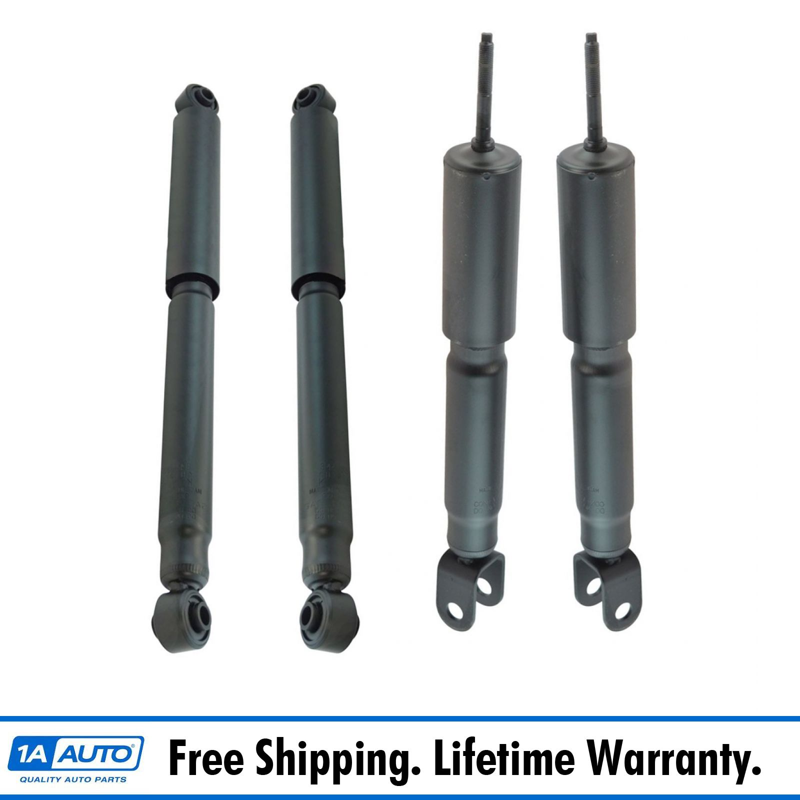 Front Rear KYB Excel-G Shock Absorbers Kit for Chevy GMC w//Single Rear Wheels