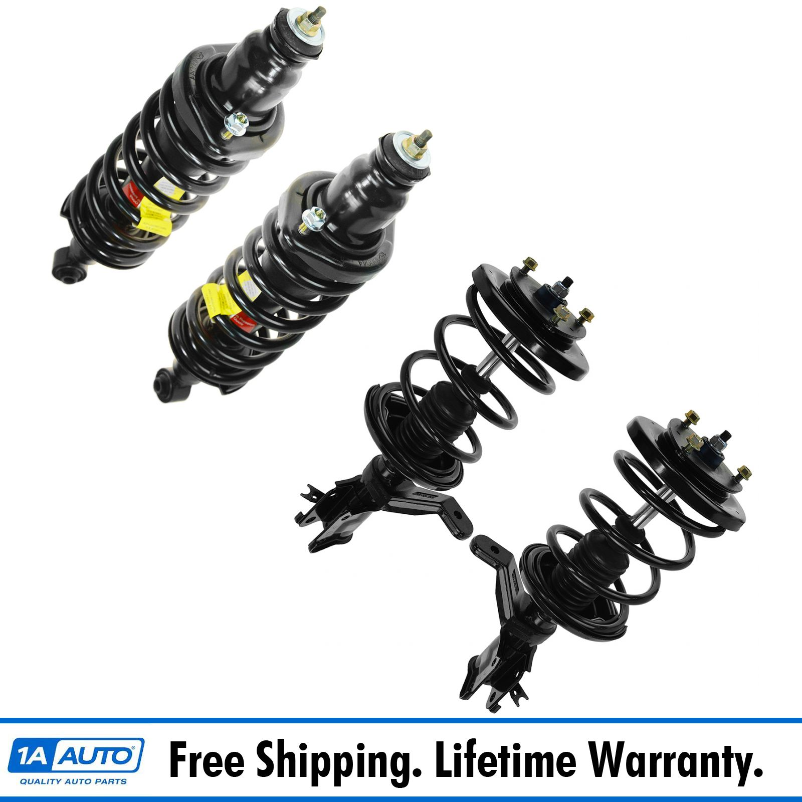Monroe New Front /& Rear Strut Replacement Kit For Honda Civic 01-05