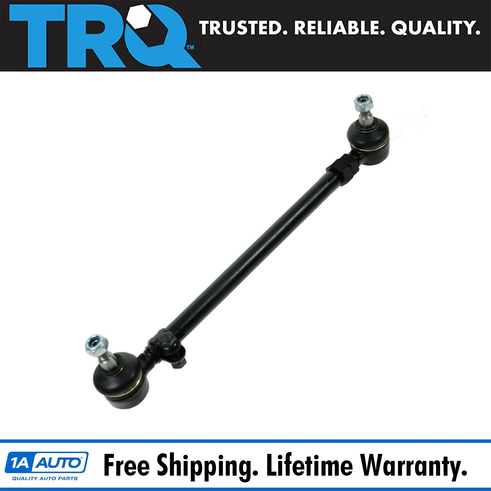 TRQ Inner Outer Tie Rod Assembly Pair Set of 2 for Mercedes 300D 450 280 W123