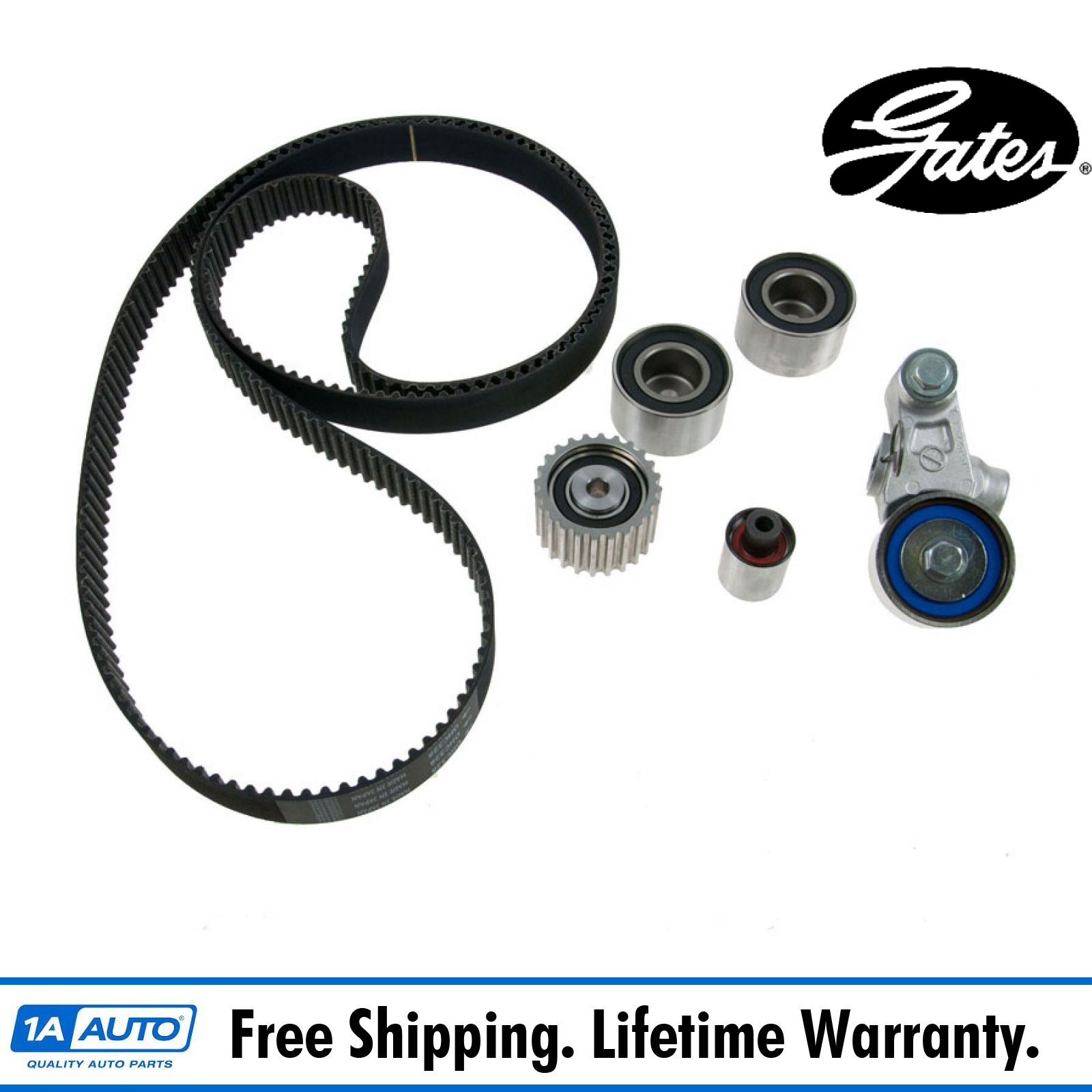 Gates Tck328 Timing Belt Component Kit Set For Subaru 20l 25l 00 Saab 9 5 Turbo