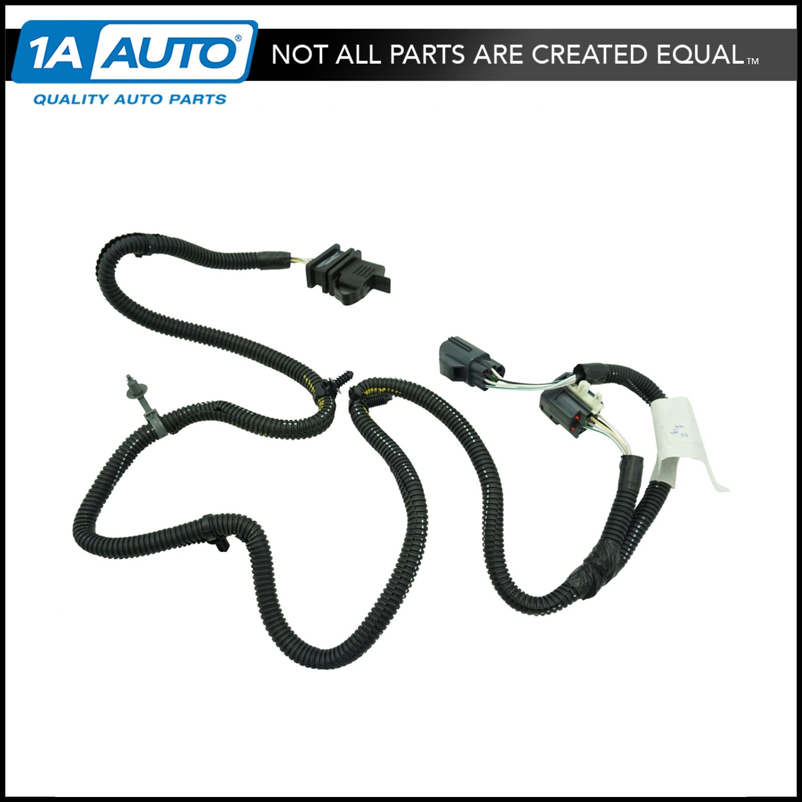 Trailer Wiring Harness For 2008 Jeep Wrangler : Oem ac trailer towing plug wiring harness pin