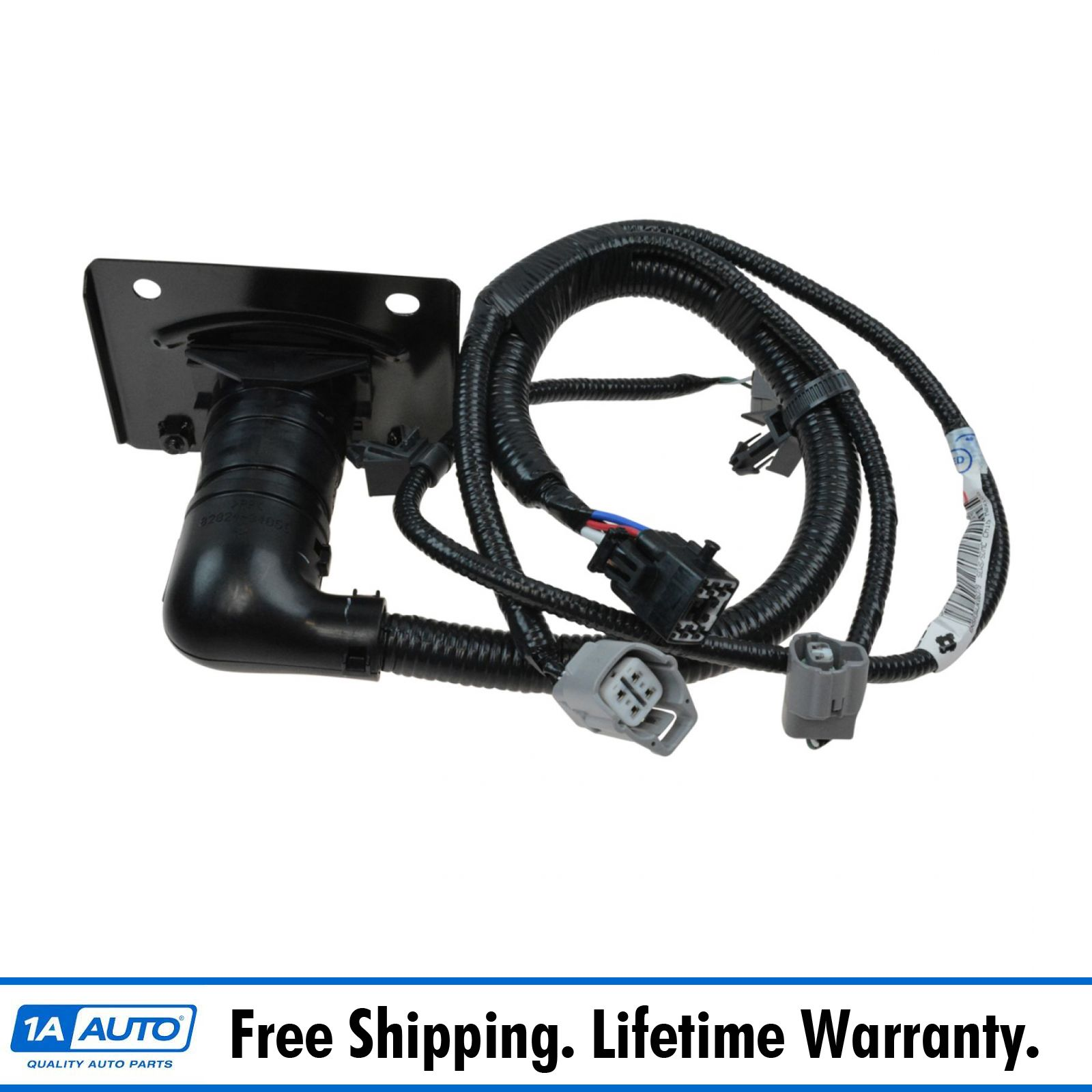 oem trailer tow hitch wiring harness 7 pin connector for. Black Bedroom Furniture Sets. Home Design Ideas