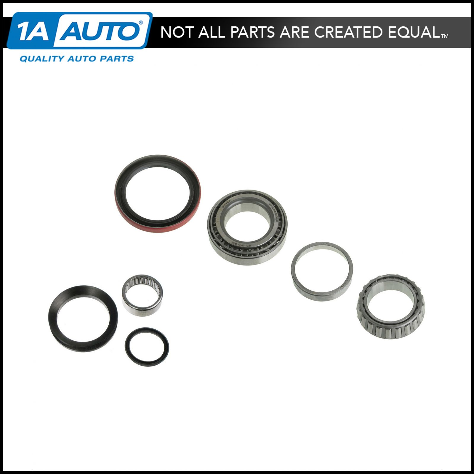 1979 1980 1981 1982 1983 1984 1985 1986 Front Left /& Right Wheel Bearing with Seal Kit Fit GMC C3500 2WD 4WD