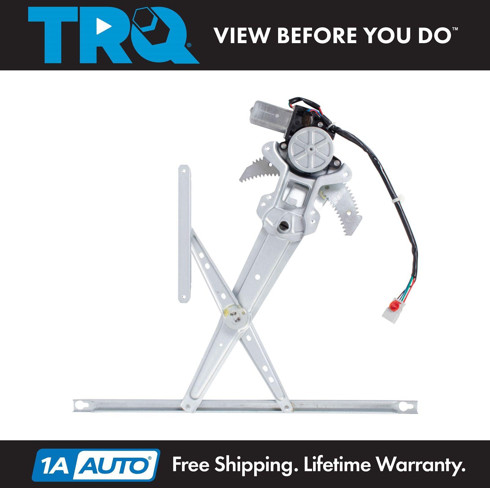 Trq Front Power Window Regulator W Motor Driver Side Lh For 97 01 Honda Cr V Ebay