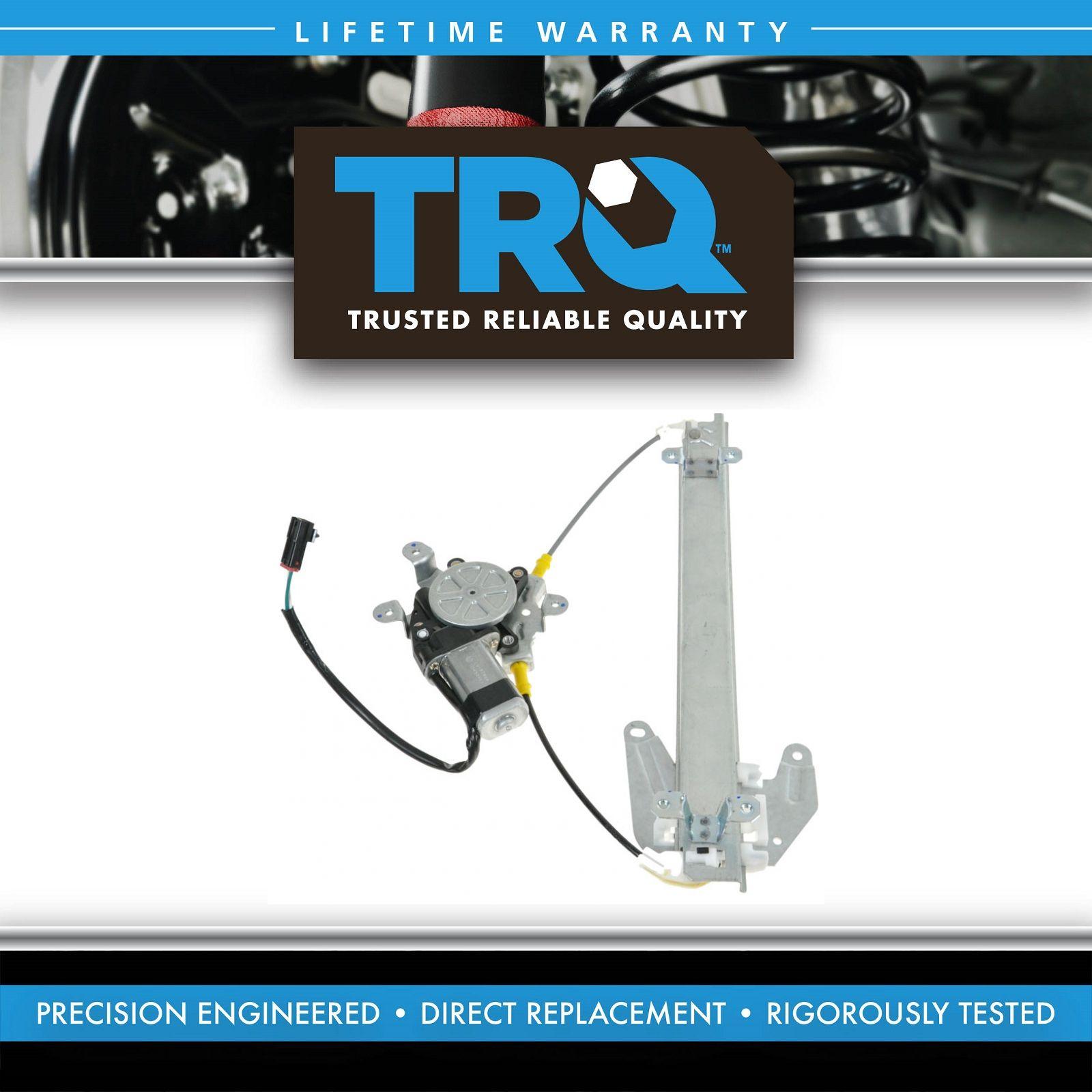 1AWRG01301 rear power window regulator w motor passenger side right rh for 91