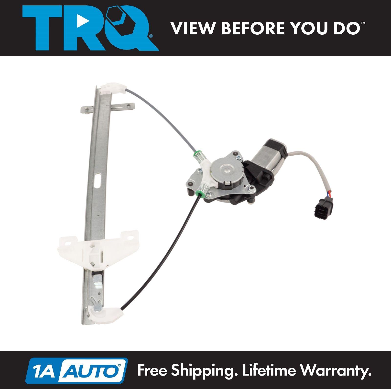 Power Window Regulator w// Motor Rear RH Right Passenger Side for 90-93 Accord