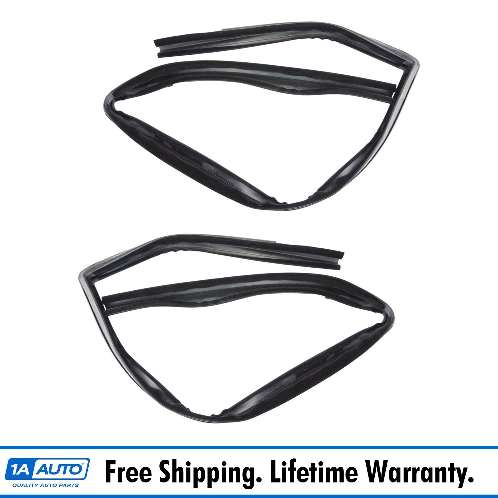 Window Glass Run Channel Weatherstrip Front LH or RH for 73-93 Ford L-Series HD