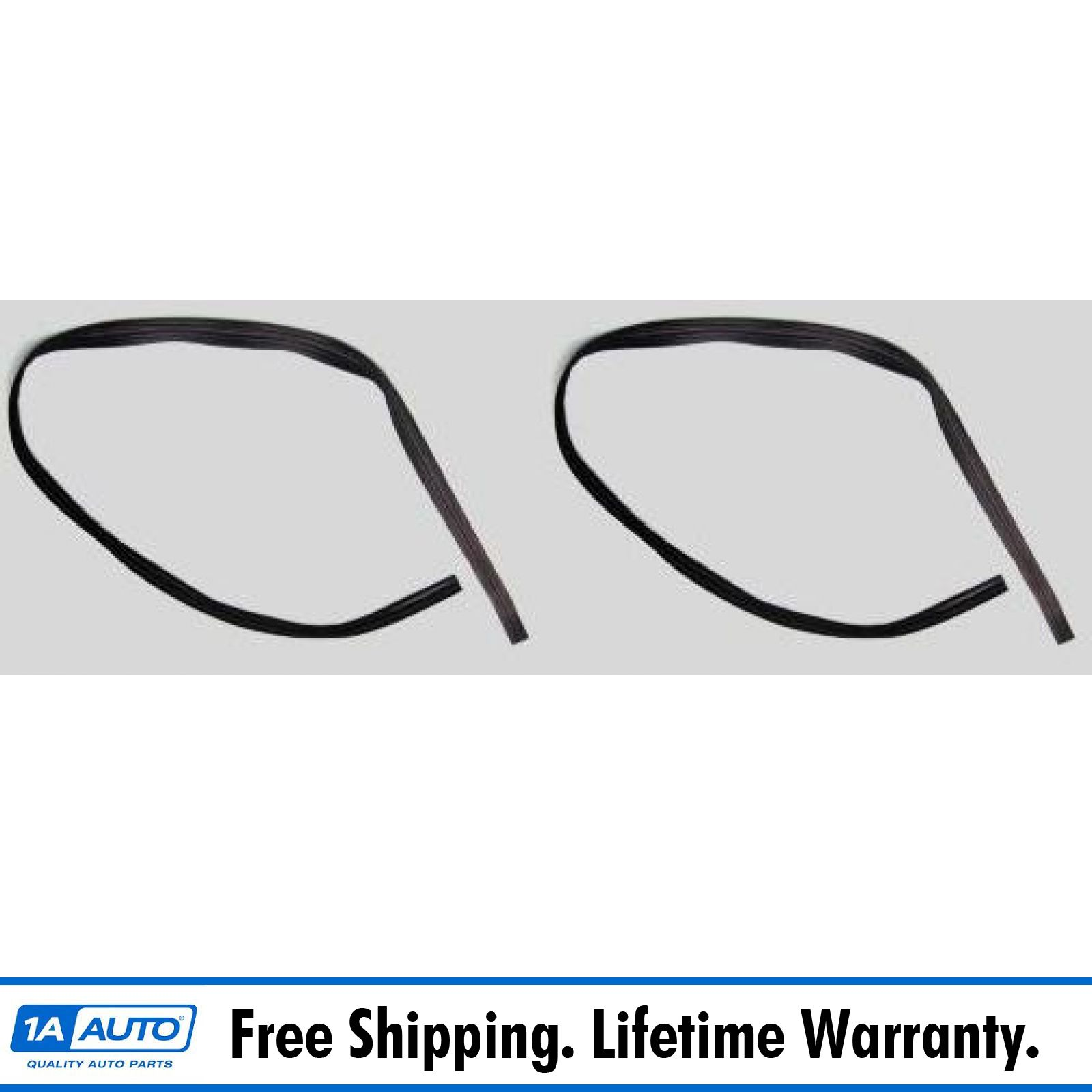 Front Window Glass Run Channel Rubber Weatherstrip Seal for El Camino Sprint