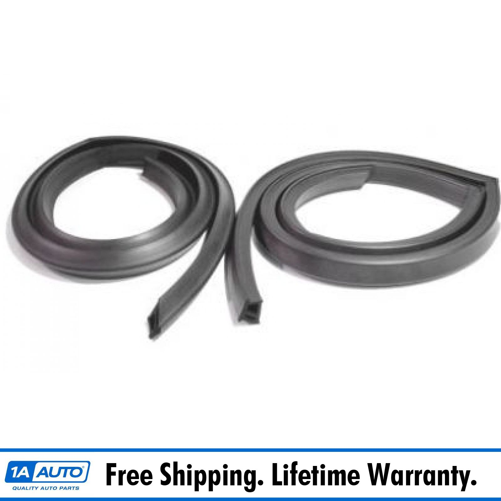 Roofrail Roof Rail Weatherstrip Seal Pair Set for 68-70 Plymouth Dodge 2 Dr Sdn