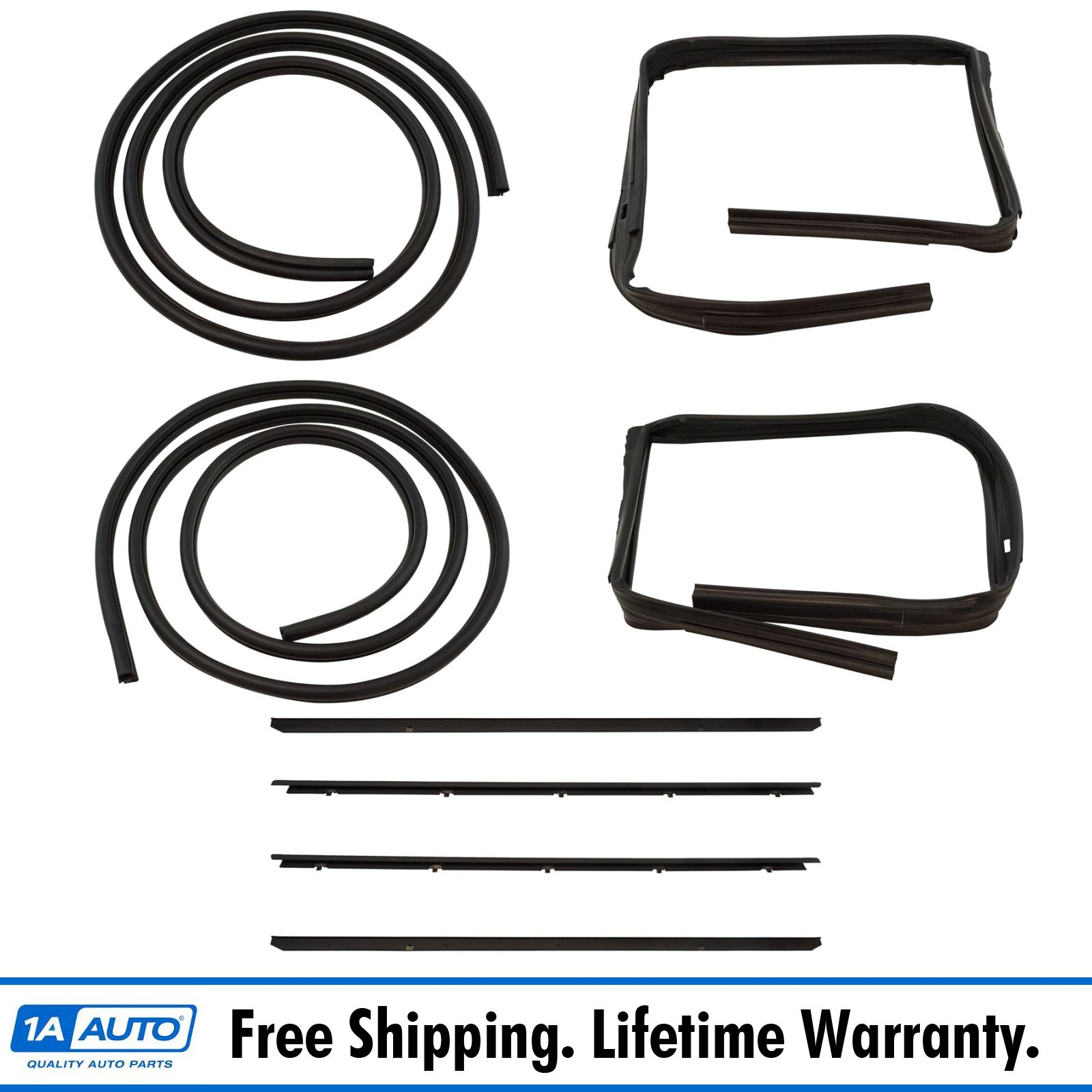 Rubber Door Weatherstrip Seal Kit Set For 83 94 Chevy S10 Blazer Gmc S 15 Jimmy Ebay