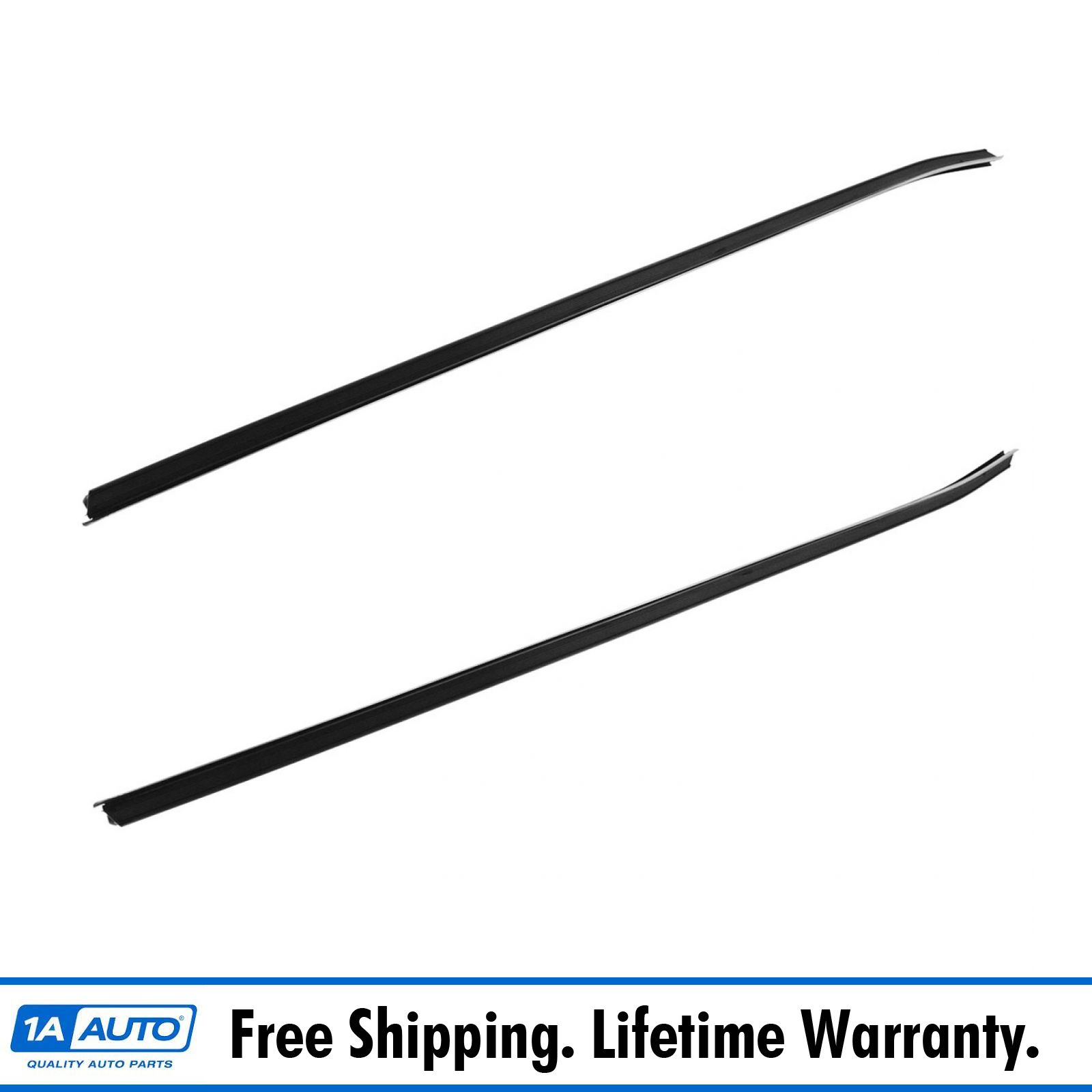 Outer Window Sweep Flat Chrome Bead Driver LH Left for 70-81 Camaro