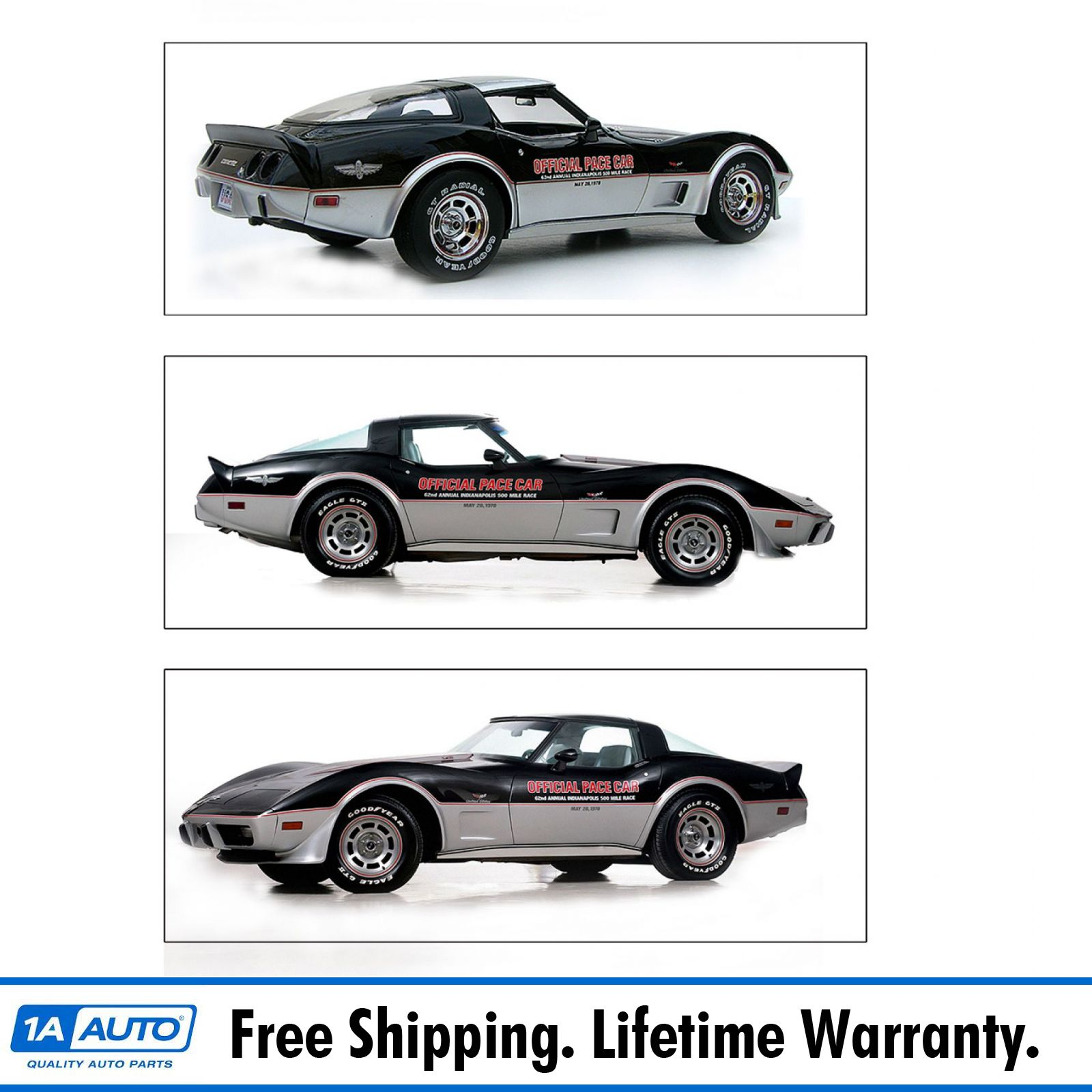 Mazda Dealership Indianapolis: Decal Stripe Indy Pace Car Silver & Red Graphics Kit 15