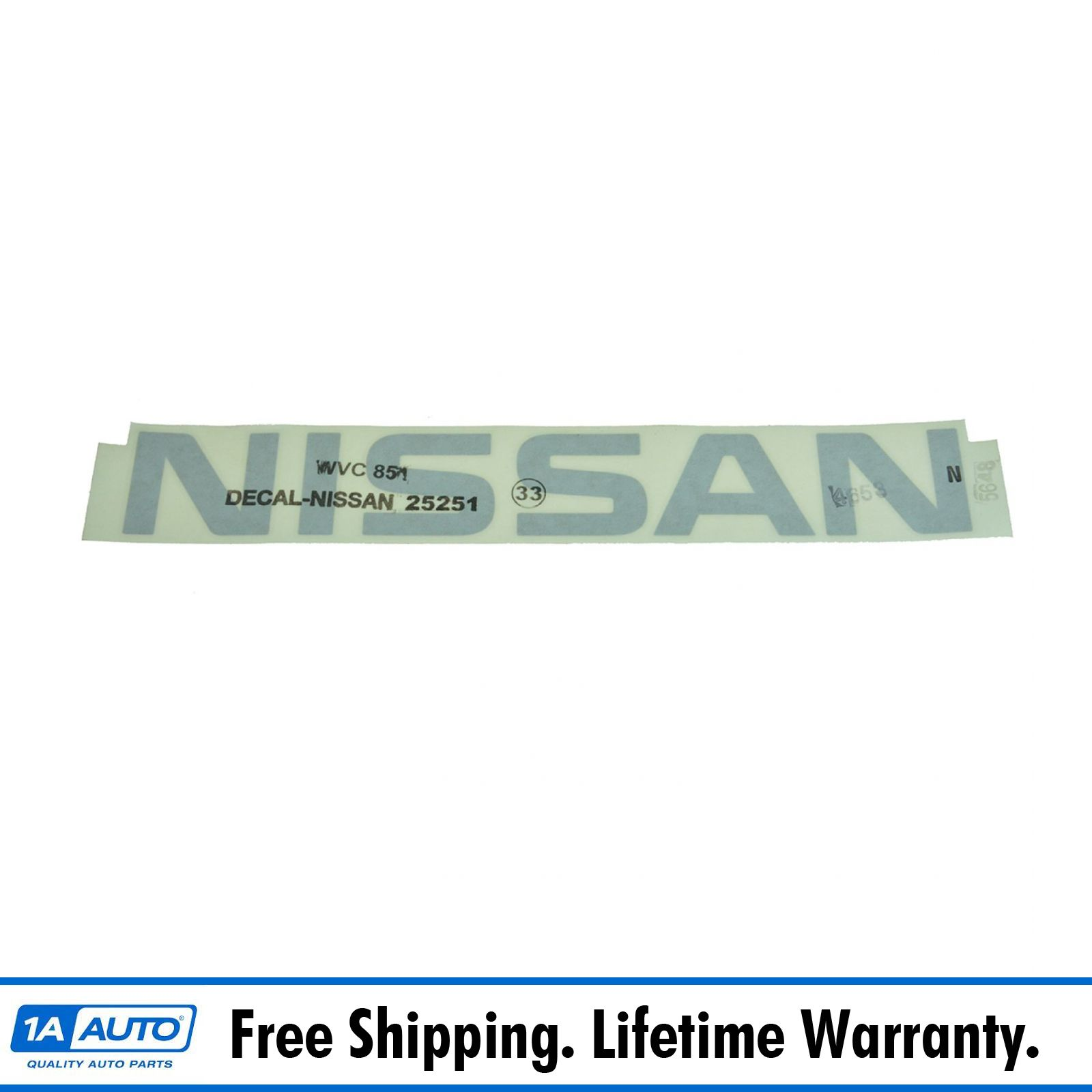 Genuine Nissan Nameplate 73164-EA00A