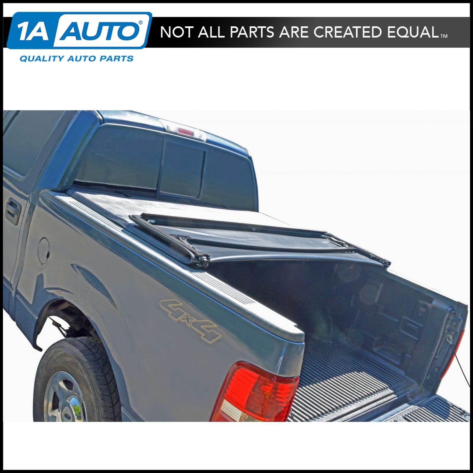 Tonneau Cover Soft Tri Fold For Chevy Gm Sierra Silverado Pickup