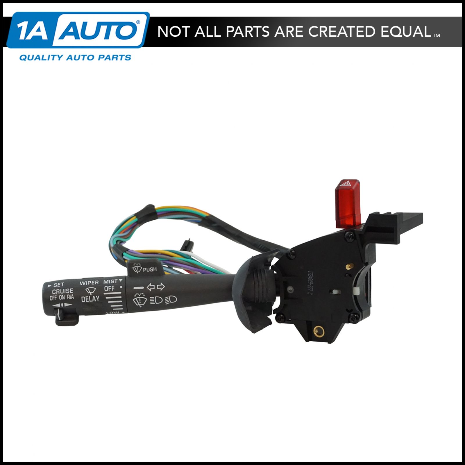 1AZCC00007 cruise control windshield wiper arm turn signal lever switch for 1994 S10 Power Stearing Pump at suagrazia.org