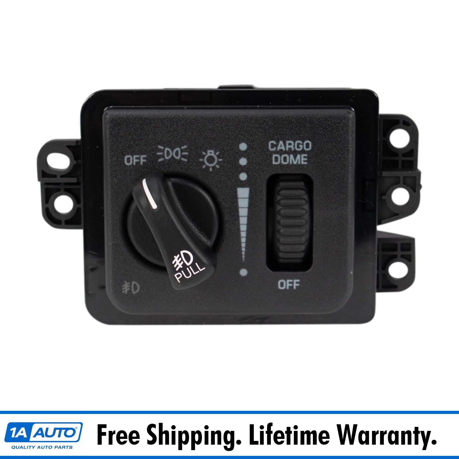 headlight fog light switch for dodge ram pickup 1500 2500 3500 ebay. Black Bedroom Furniture Sets. Home Design Ideas