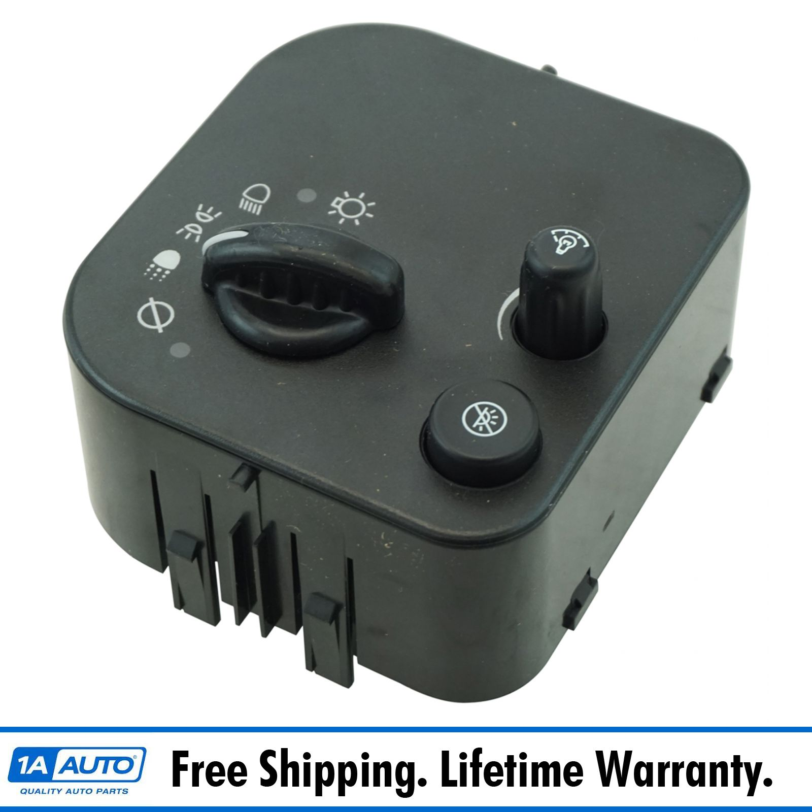 1A Auto Headlight Lamp Switch Assembly for Chevy Buick GMC New