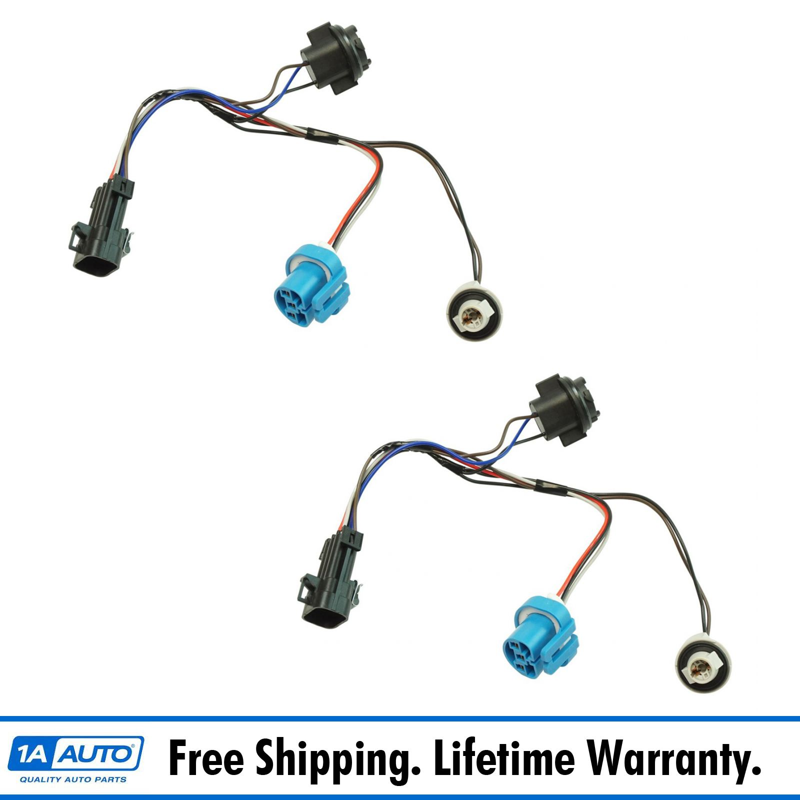 1AZMA00009 dorman headlight wiring harness side pair for chevy cobalt pontiac GM Headlight Wiring Harness at bayanpartner.co
