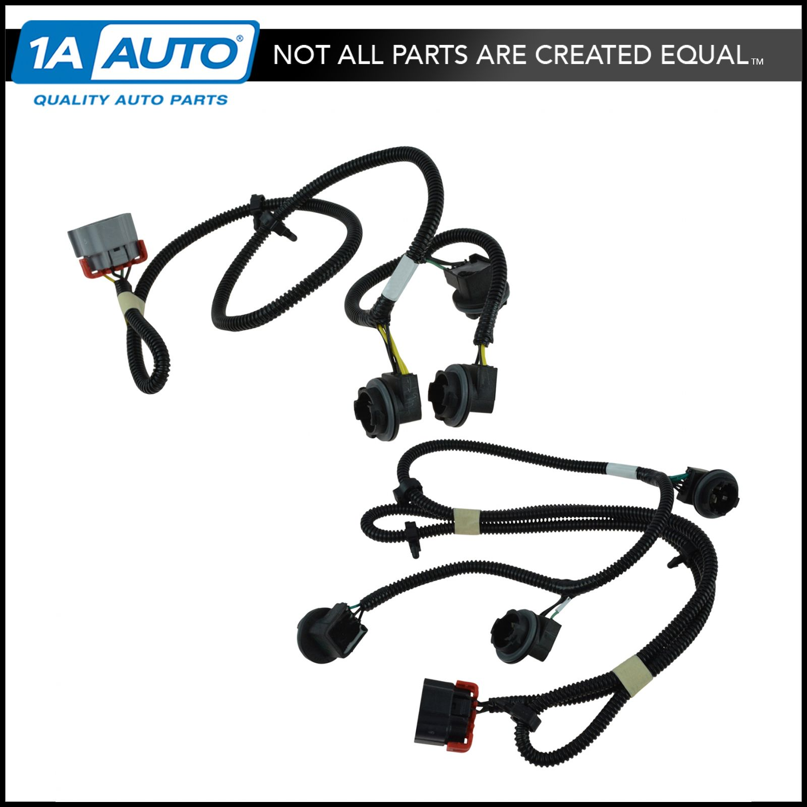 oem tail light lamp wiring harness pair lh rh sides for. Black Bedroom Furniture Sets. Home Design Ideas