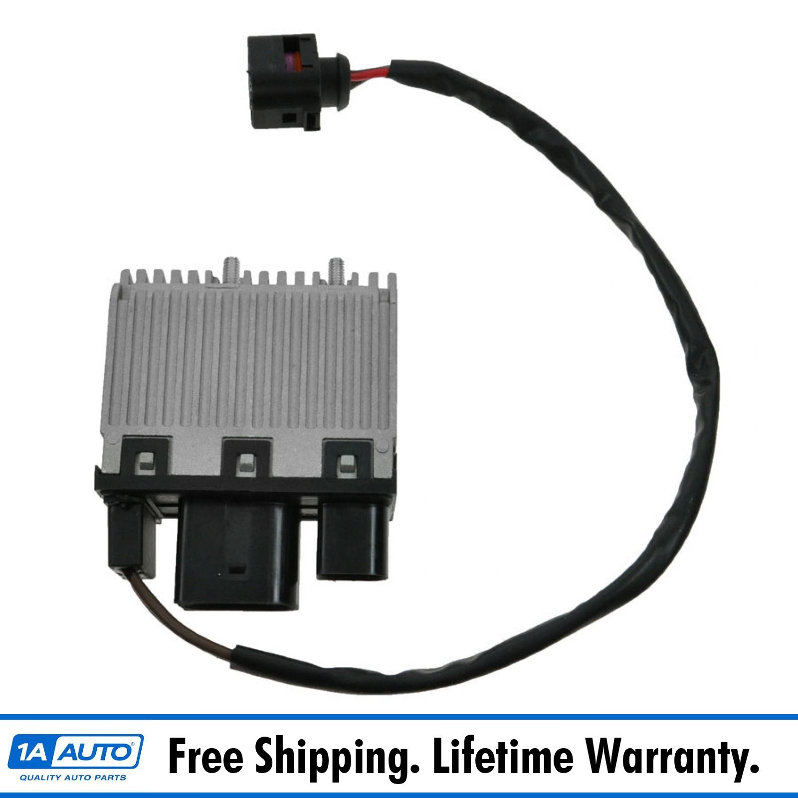 Engine Radiator Cooling Fan Control Unit Module For 2002-2009 Audi A4 A6 Quattro