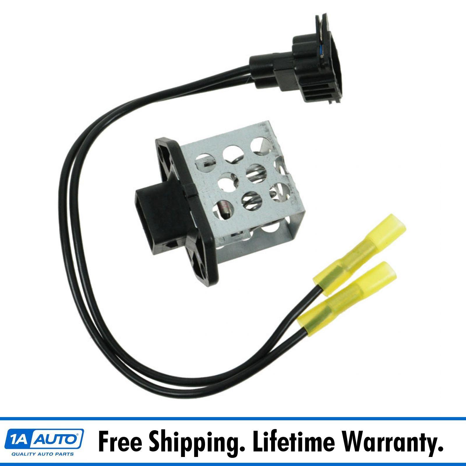 Engine Cooling Fan Control Resistor For Ford Mercury Focus Contour 4U2Z14S411DA