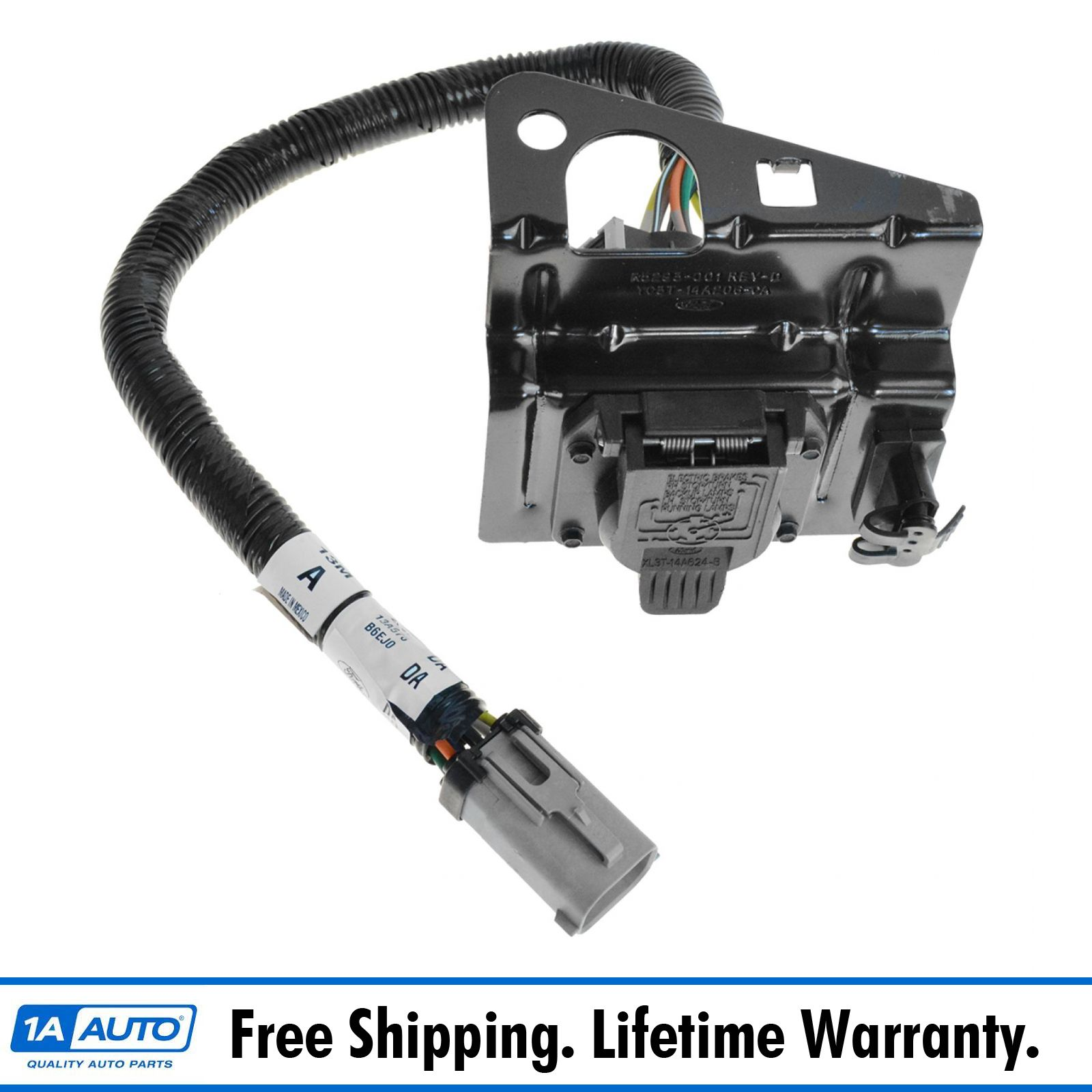 Ford Trailer Plug Harness - Wiring Diagram Dash on 7 prong trailer diagram, 7 prong rv plug, ford 7-way plug wiring, 2013 ram trailer wiring, 7 pin tow wiring, rv plug wiring, 7 prong plug wiring diagram, 6 pin trailer wiring,