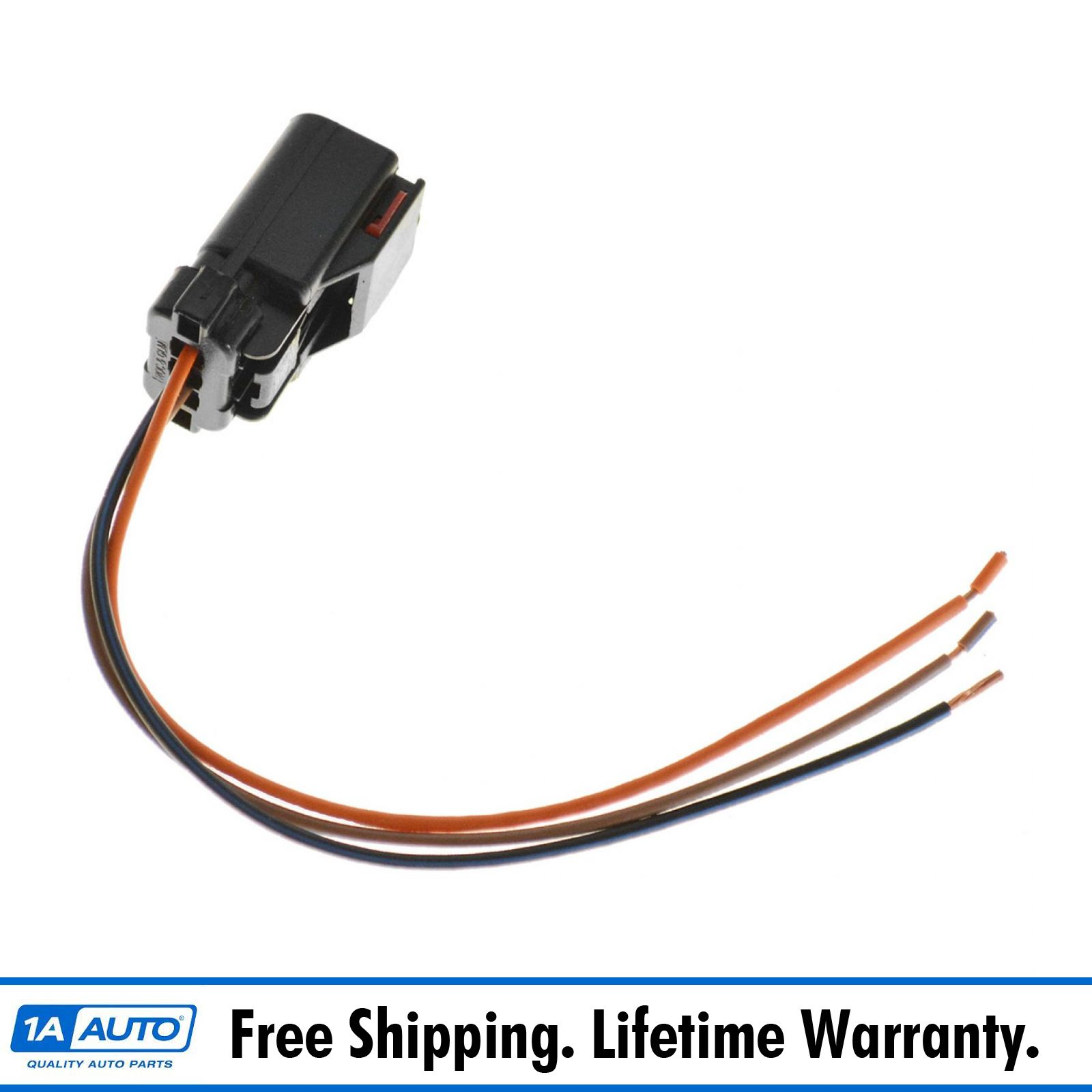 1AZWH00076 wiring connector pigtail harness 3 terminal pin for chrysler dodge 1984 dodge w150 wiring harness at gsmportal.co