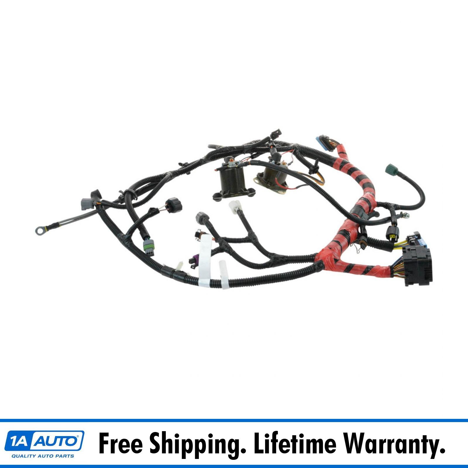 Oem F81z12b637fa Main Engine Wiring Harness For Super Duty Pickup Ford Excursion Truck Suv New
