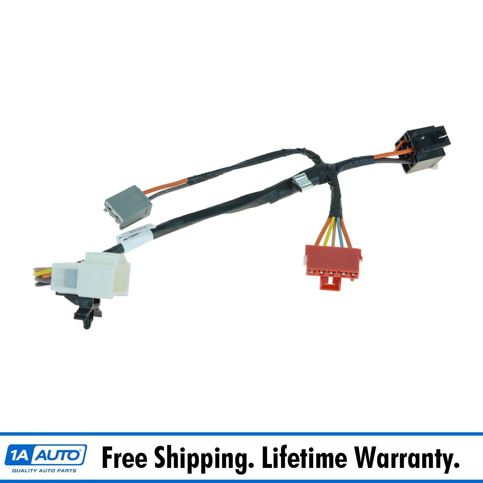 Oem blower motor resistor wiring harness pigtail connector